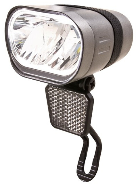 spanninga Axendo 60 XDAS - Éclairage vélo - StVZO argent